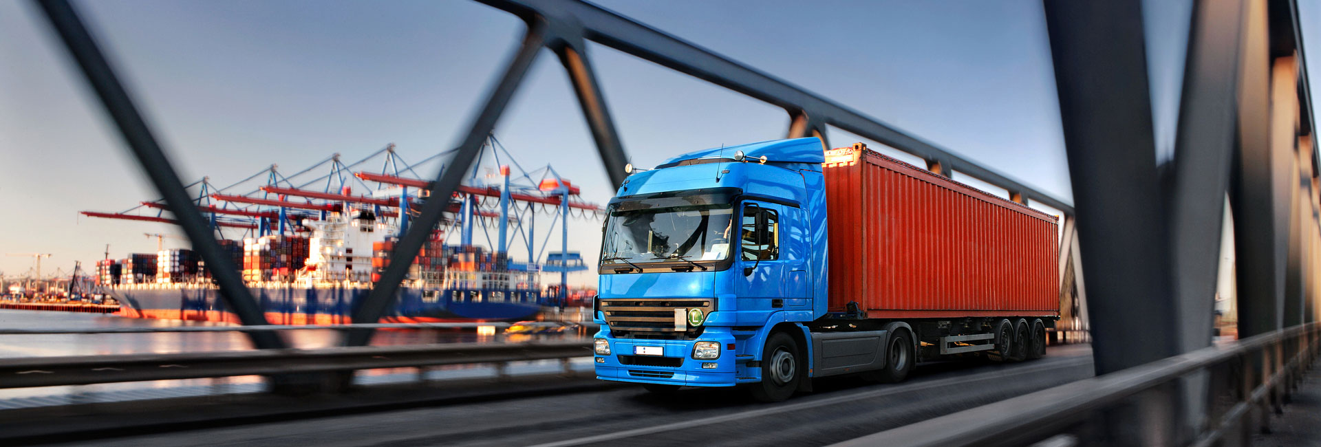 Chemikalien Online, Transporter Blau Orange