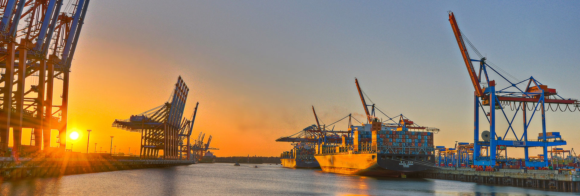Chemikalien Shop für Privatpersonen, Hafen Hamburg, Schiffe Container