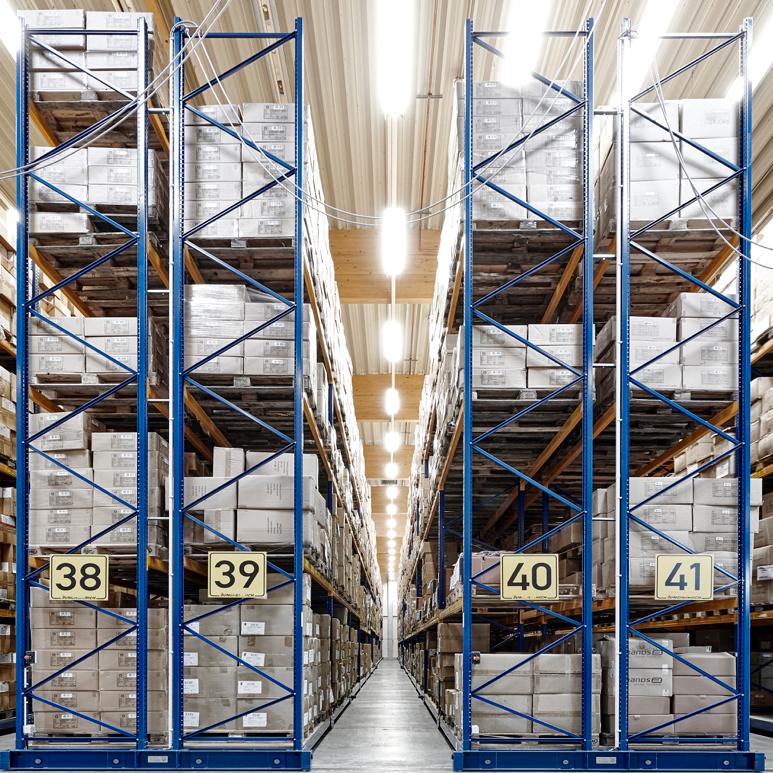 Nachhaltige Textilien Logistik